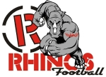 rhinos logo white